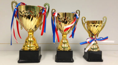 Metallic Trophies 金層獎盃