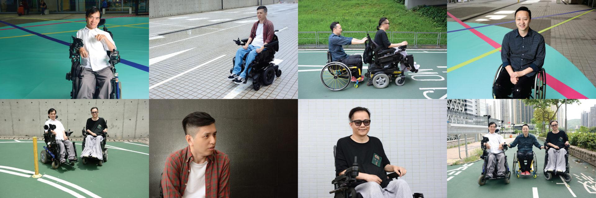 theme shot with 8 photos of Tab Hui/Willy Law/ Fung Chan/ Wing Lam 造型照 內有 8 張 許毓青/藍天穎/羅偉祥/陳利鋒